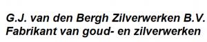 G.J. van den Bergh zilverwerken